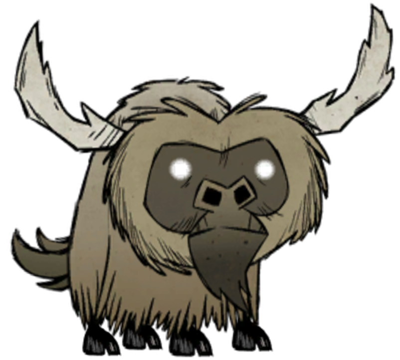Tigers drawing minecraft. Beefalo don t starve