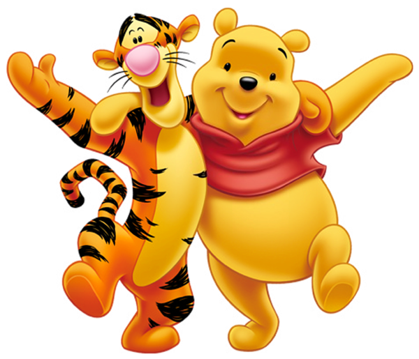 Winnie the pooh and. Tigger transparent miss you clipart royalty free stock