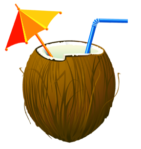 Coconuts vector coconut drink. Pin by mats spitzhoff