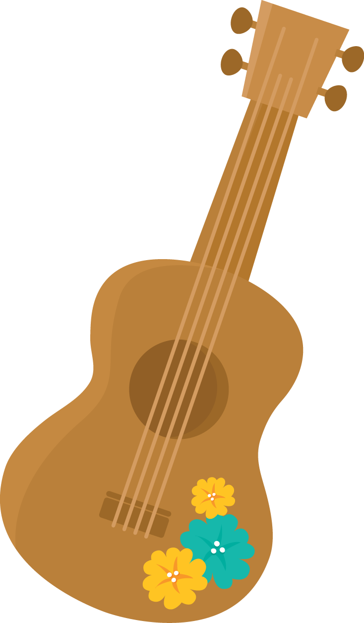 Ukulele vector tropical. Pin by organized chaos