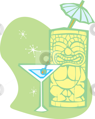 Tiki clipart tiki drink. And martini drinks stock