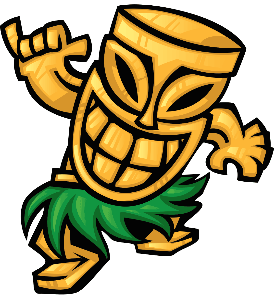 Tiki mask png. Bar cuisine of hawaii