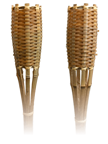 torch transparent tiki