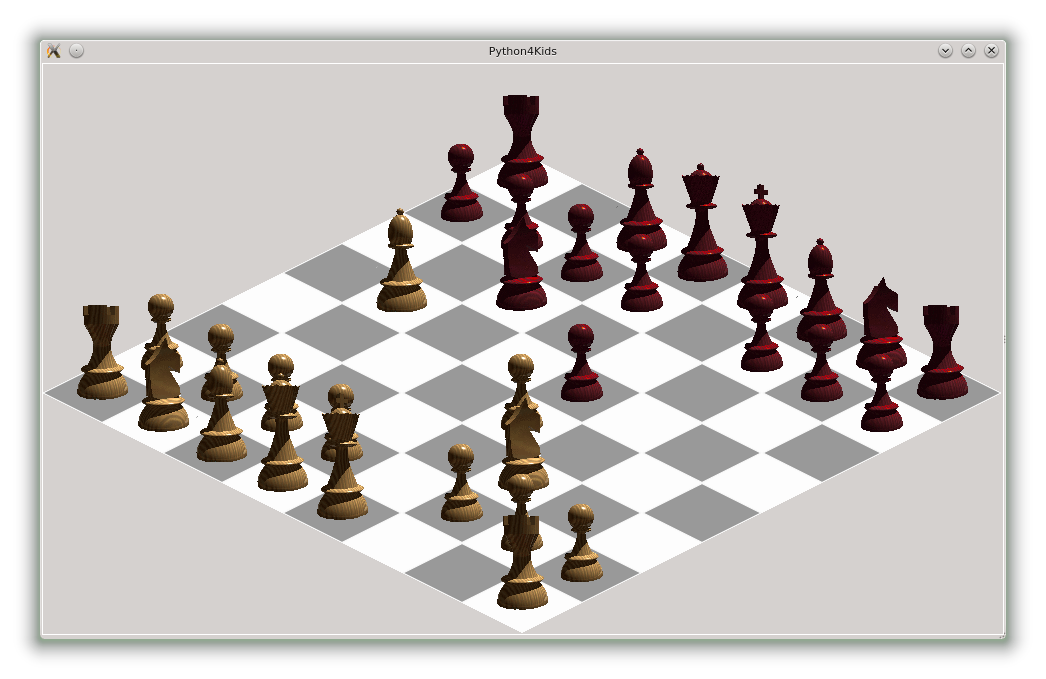 Match drawing chess. Yet another view of