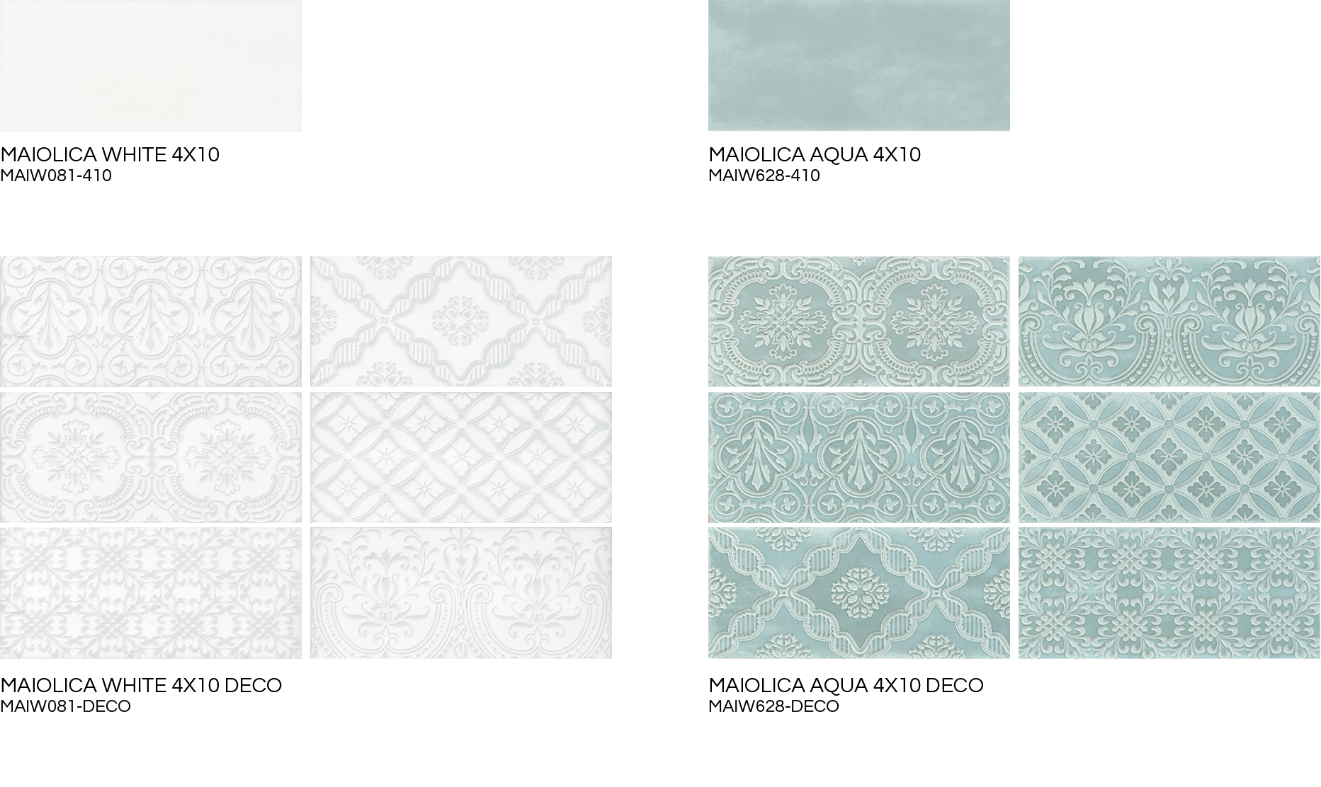 Tile drawing subway herringbone. Maiolica white aqua ceramic