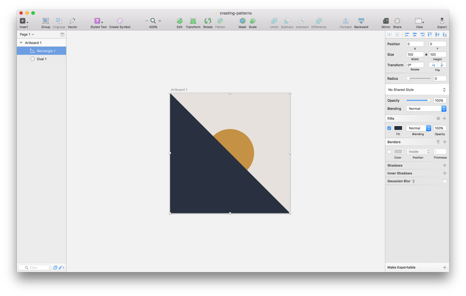 Checkered drawing plaid pattern. Creating patterns in sketch