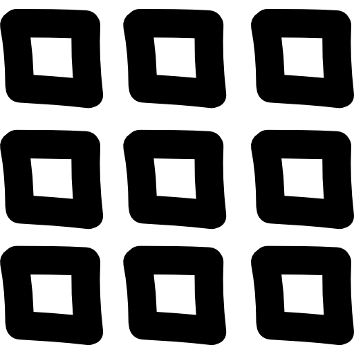 Tile vector mosaic. Of nine square tiles