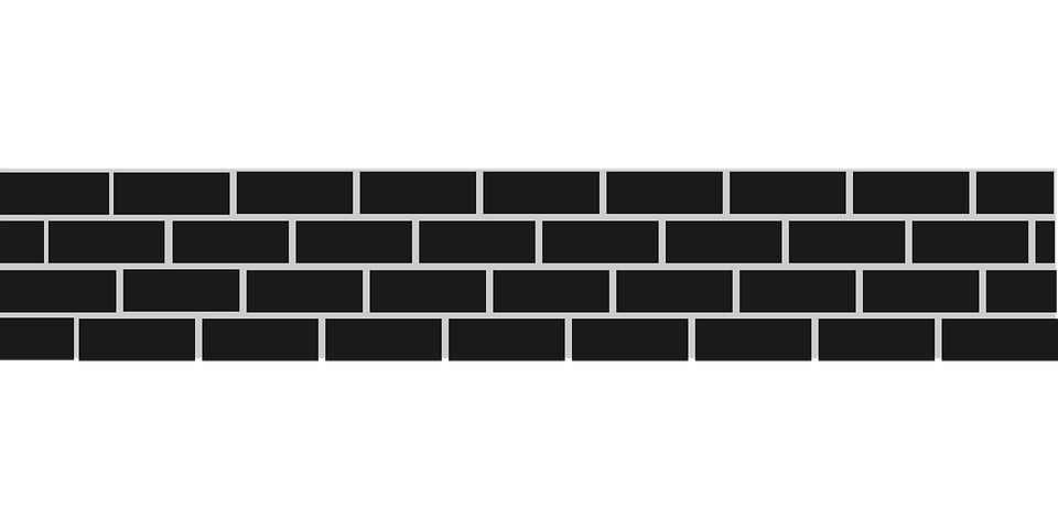Tile vector wall. Png black and white