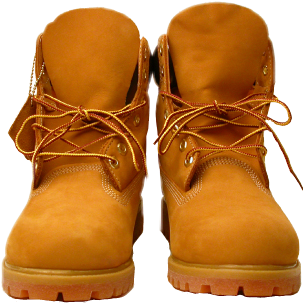 Timbs png brown. Front view timberland boots