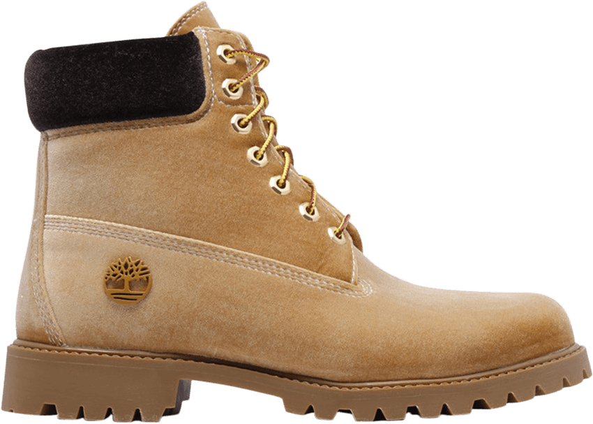 Timbs png brown. Off white x inch