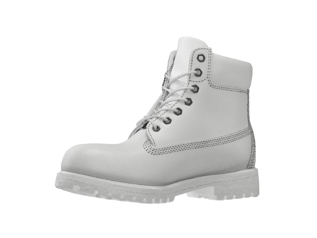 Timbs png black. White on the hunt