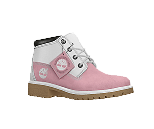 Transparent boot pink. Design your own womens