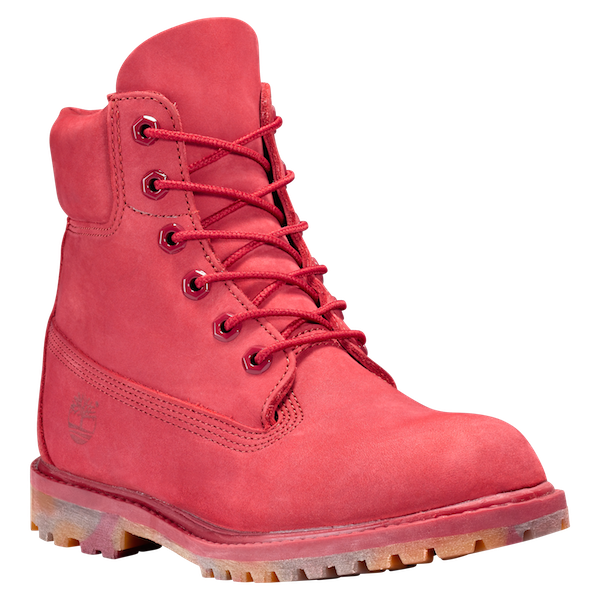 Timbs png red. Timberland nubbuck mono with