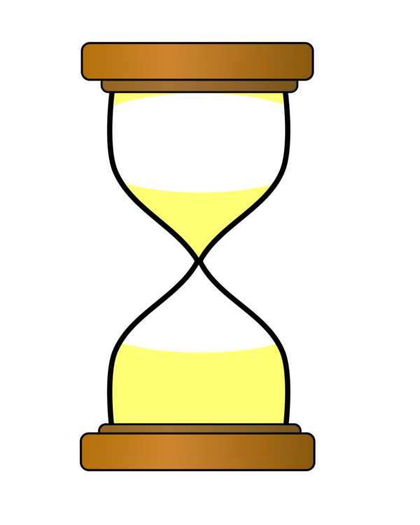 Hourglass egg clock free. Timer clipart clip black and white stock