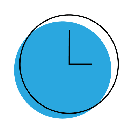 Time clock png. Icon transparent svg vector
