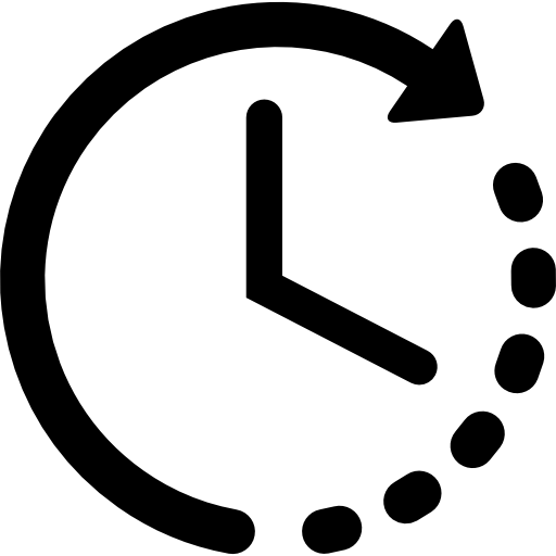 Time png icon. Left free interface icons