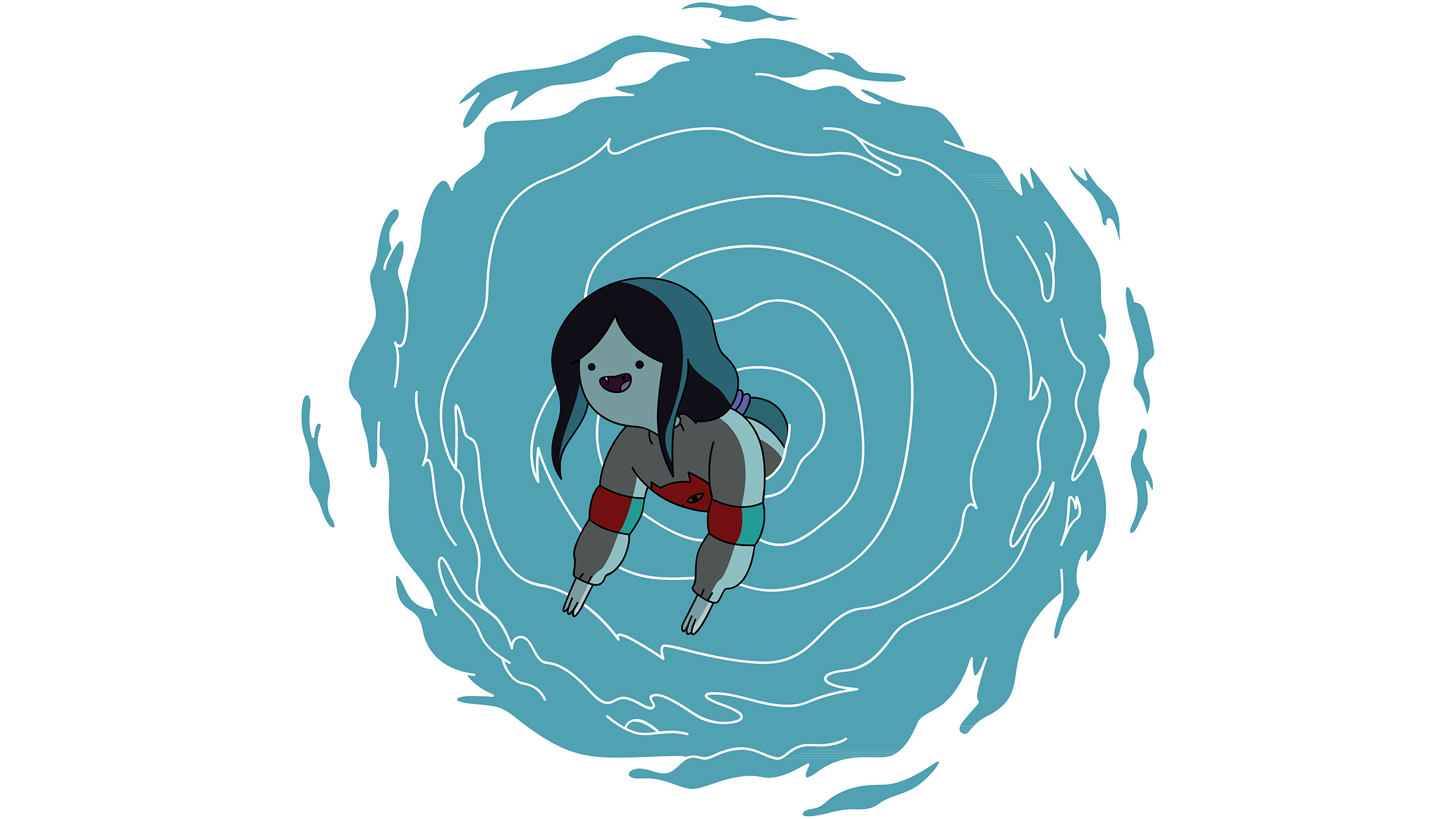 Time portal png. Marceline in the adventure