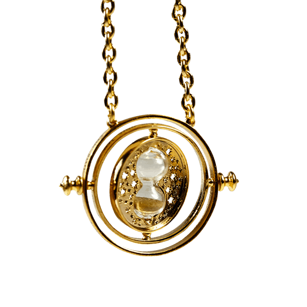 Time turner png. Harry potter necklace replica