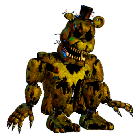 Nightmare imgur. Timeline drawing golden freddy picture free library