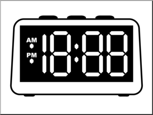 timer clipart digital timer
