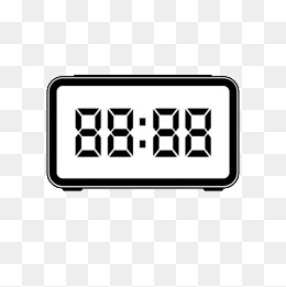 Clock png vectors psd. Timer clipart digital timer png royalty free