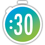 Timer transparent 30 second. Apk android x