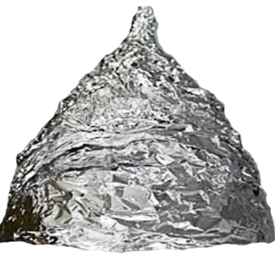 relief drawing tin foil