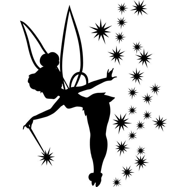 Tinkerbell clipart template. Tinker bell for helena