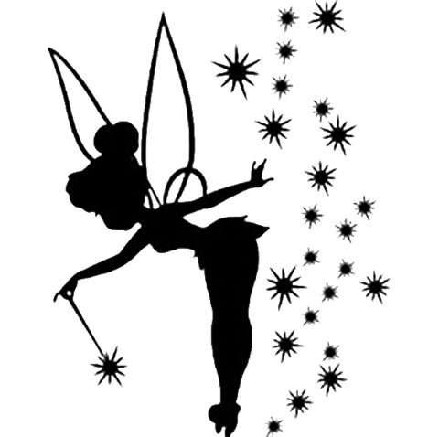 tinkerbell clipart template