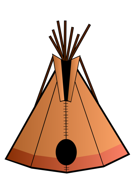 Tipi drawing native american. Americans in the united