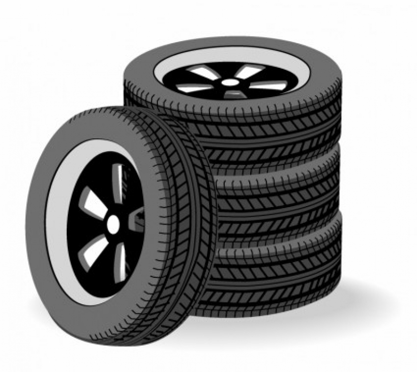 Tire clipart. Tires collection stacked free