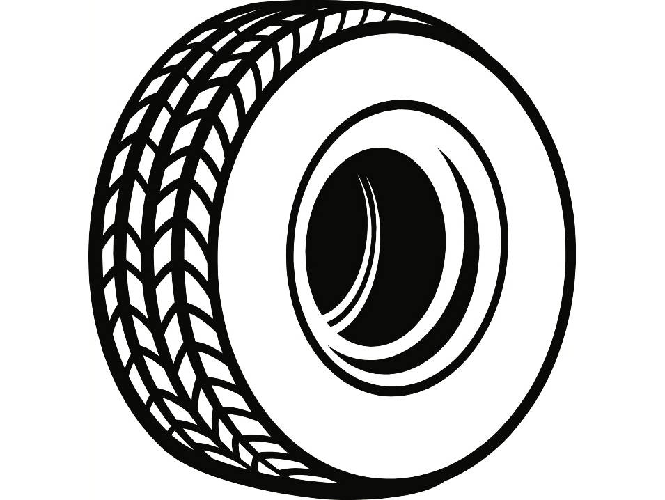 Tire clipart automobile. Car drawing at getdrawings