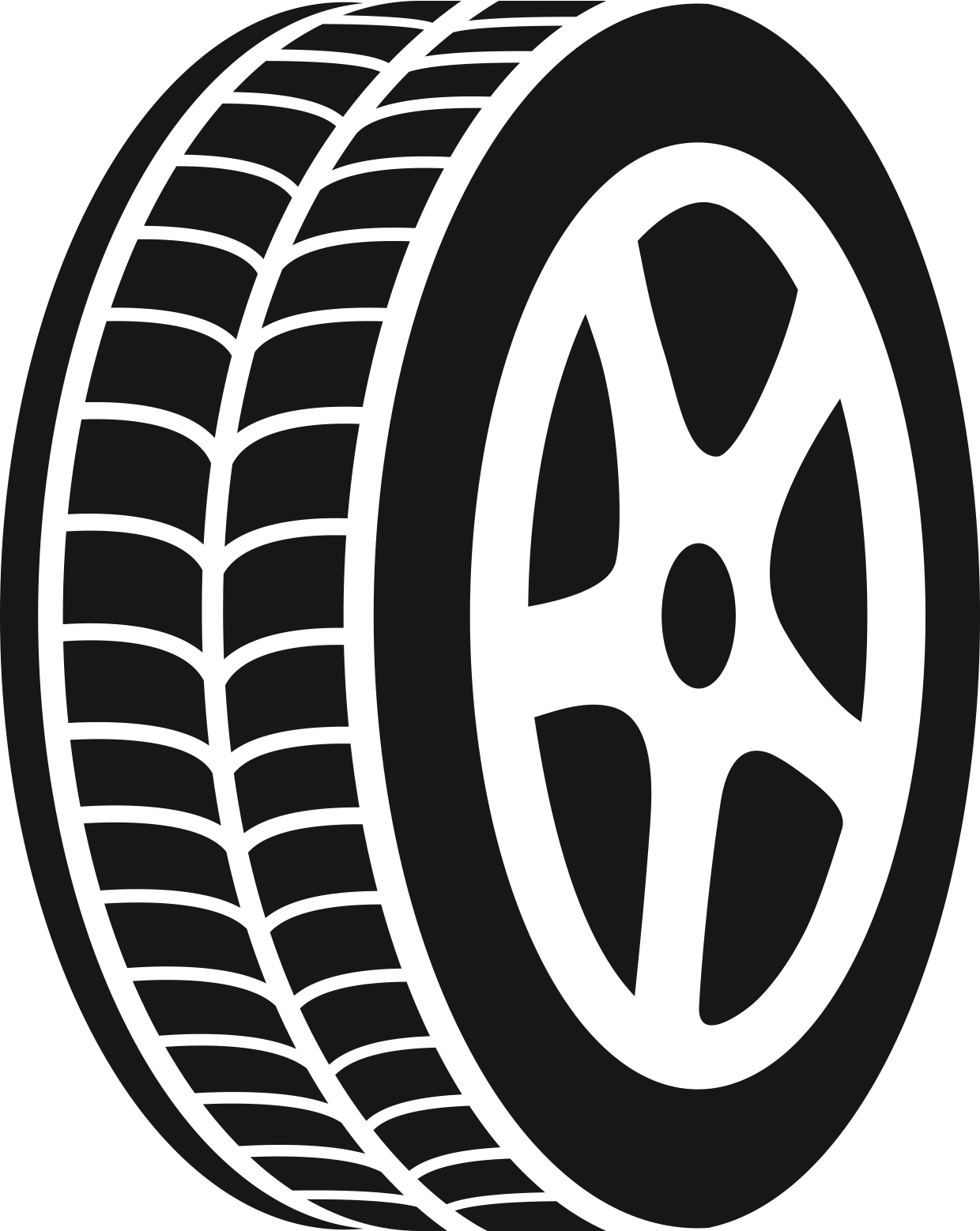 Tire clipart black and white. Top with rim clip