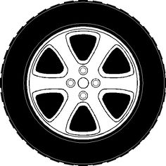 Tire pencil and in. Wheels clipart lightning mcqueen banner royalty free stock