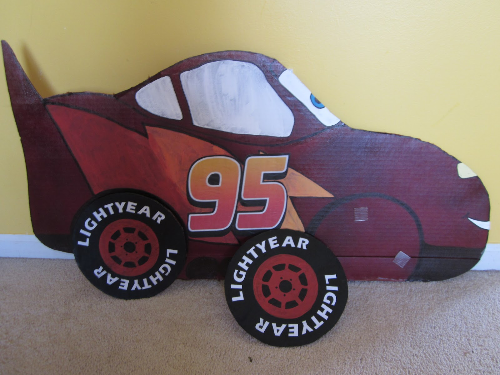 Tire clipart lightning mcqueen. Because i said so