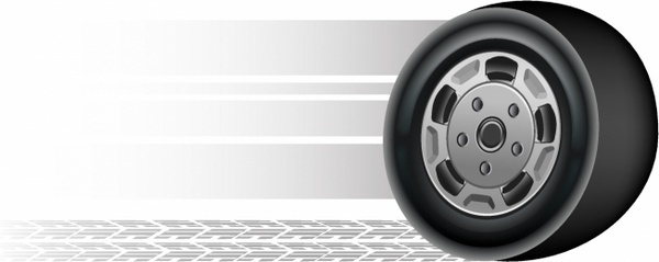 tire clipart rolling tire