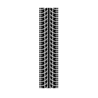 Tracks clipart track road. Tire tread marks png clip art library stock