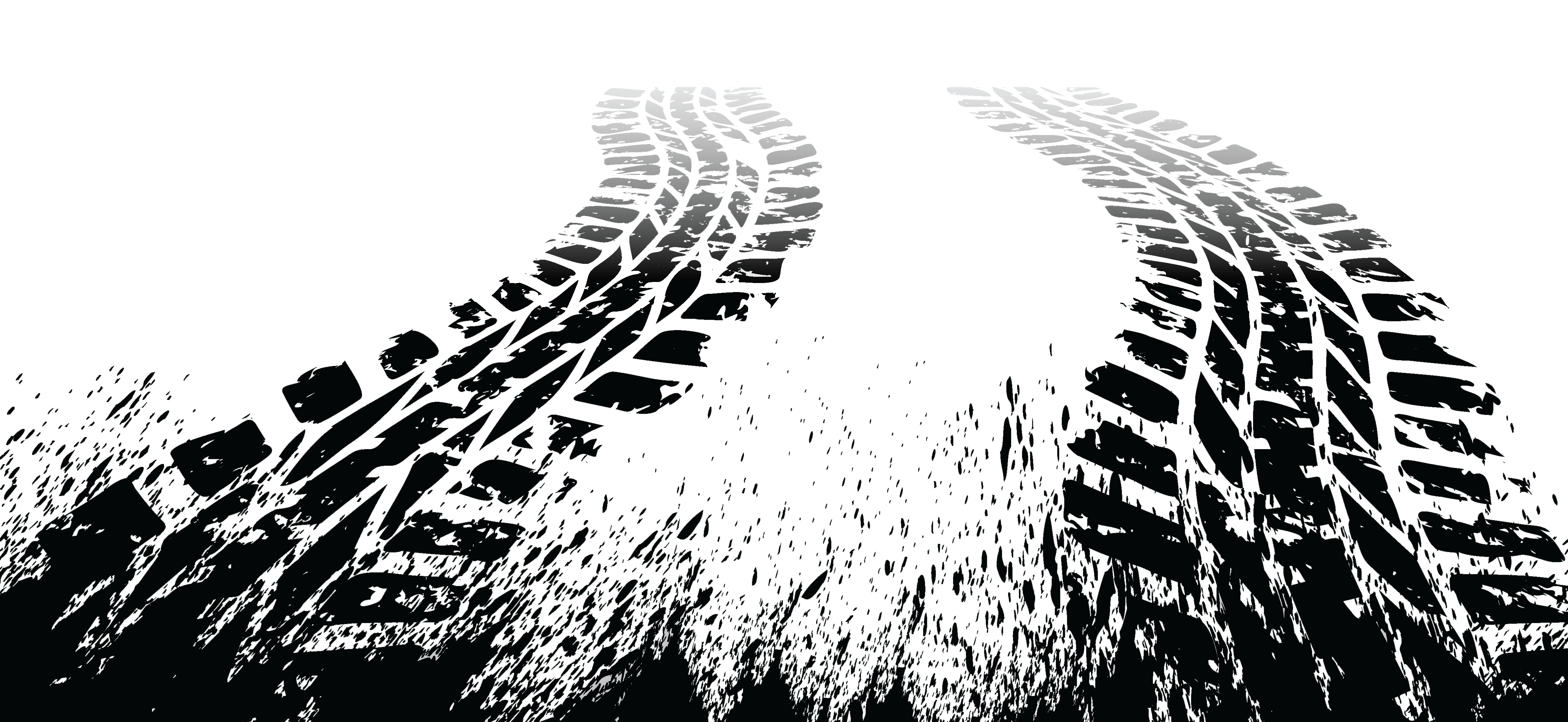 Tire tracks png. Car royalty free stock
