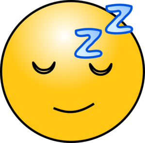 Tired clipart. Face