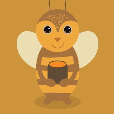 Tired clipart bee. Tiredbee com twitter