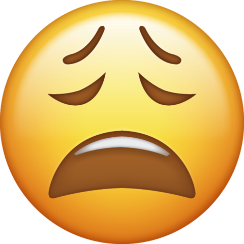 Tired emoji png. Download iphone icon in