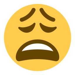 Weary emoji png. Free face tired icon