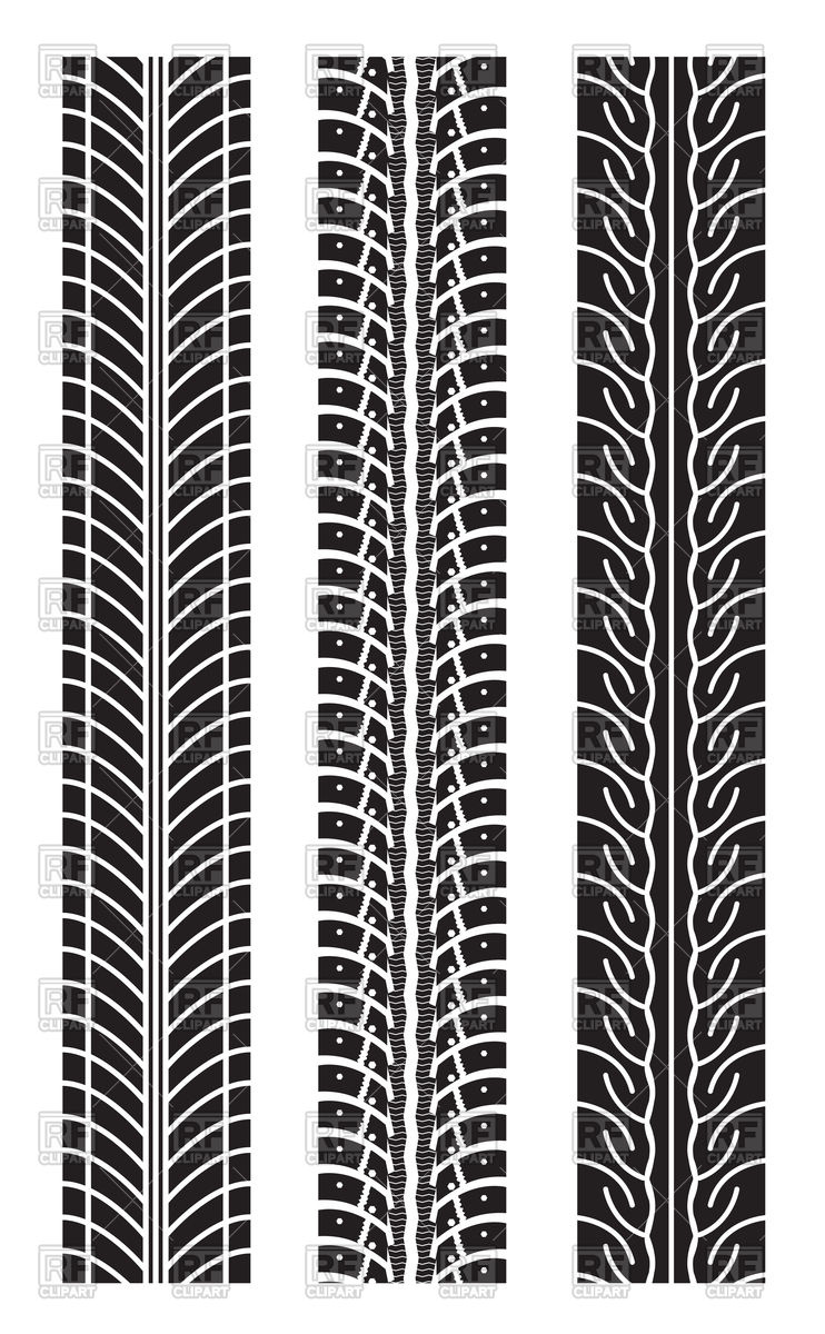 Tires clipart border. Pencil and in color