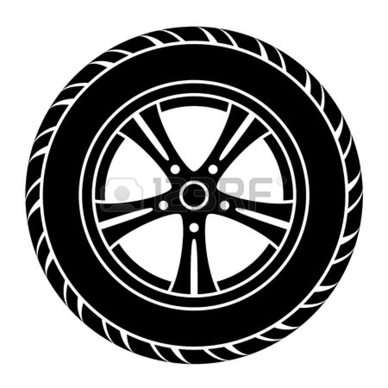 Tires clipart vehicle. Car tire free a