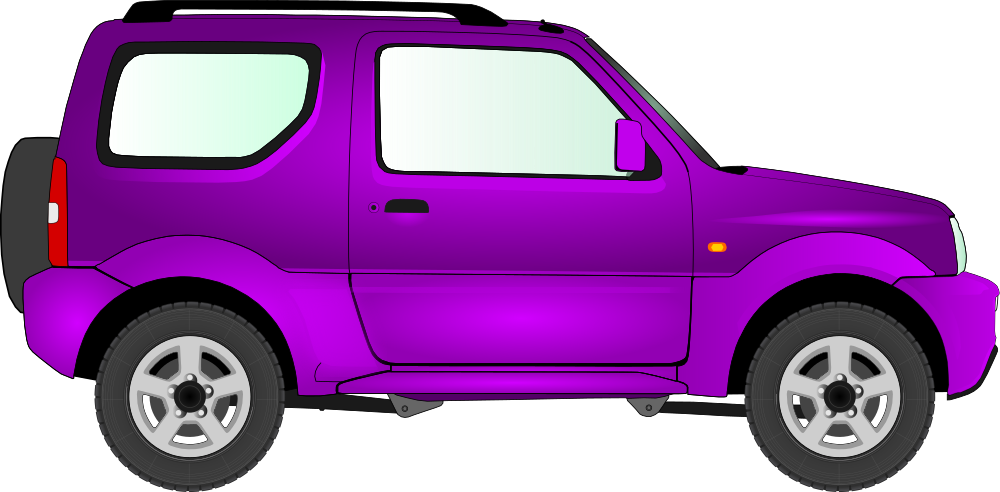 Purple suv
