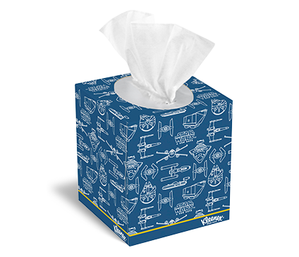 Tissue box png. Kleenex star wars designs