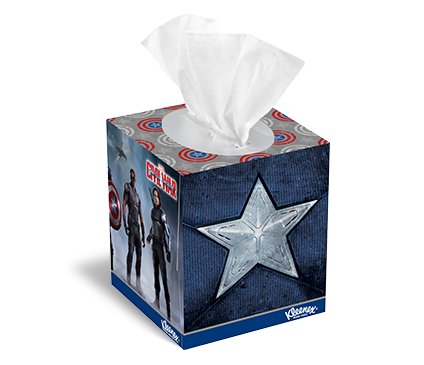 Tissue box png. The marvel universe designs