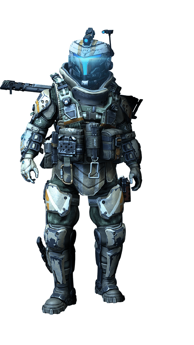 Titanfall 2 pilot png. In sci fi science
