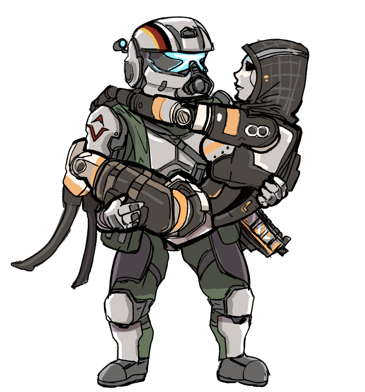 Titanfall 2 pilot png. The fast guys fan