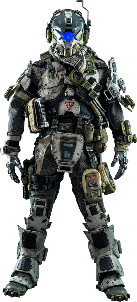 Titanfall 2 pilot png. Image product silo halo
